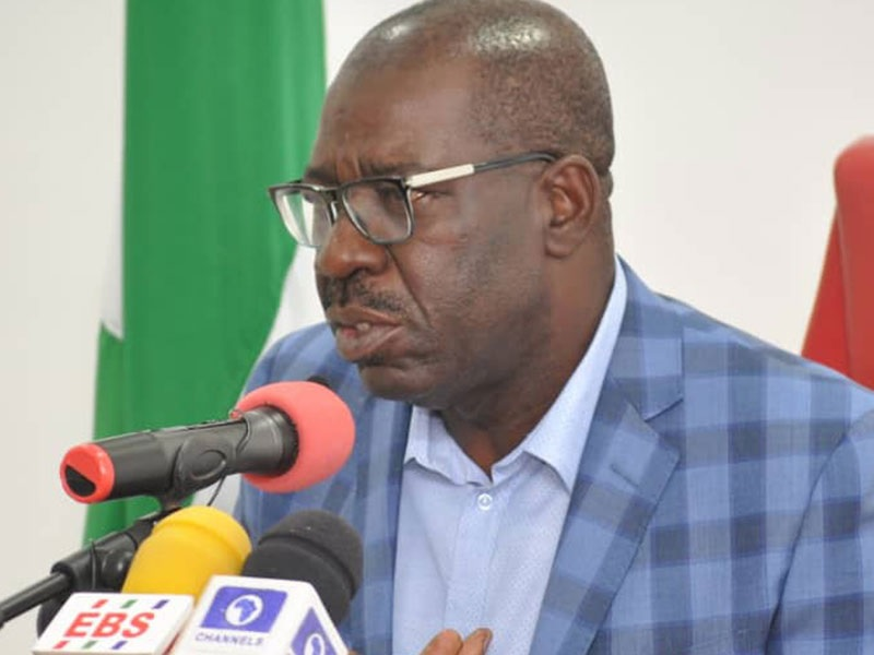 Obaseki's convoy in head-on collision as protocol officers, children killed