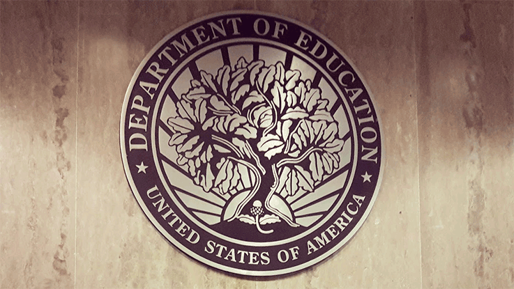 African-American employee's office vandalized at Dept. of Education