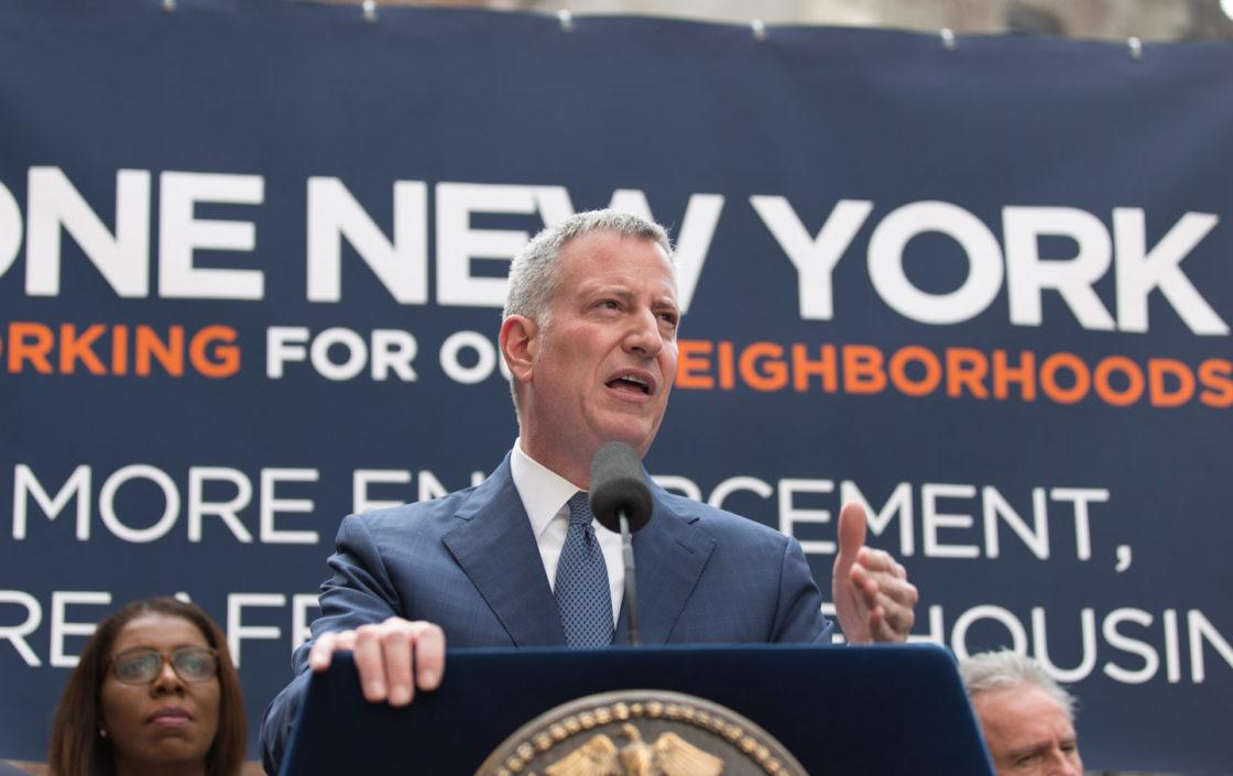 NYC Mayor Bill de Blasio drops out of the race