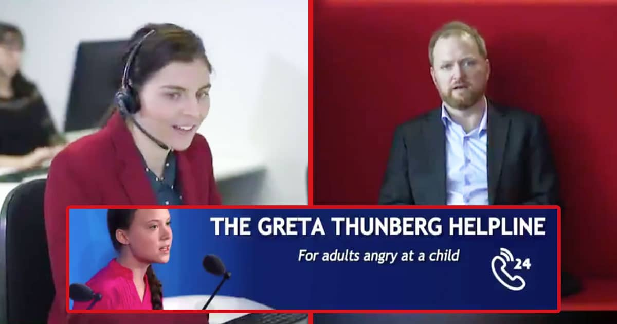 The Greta Thunberg Helpline