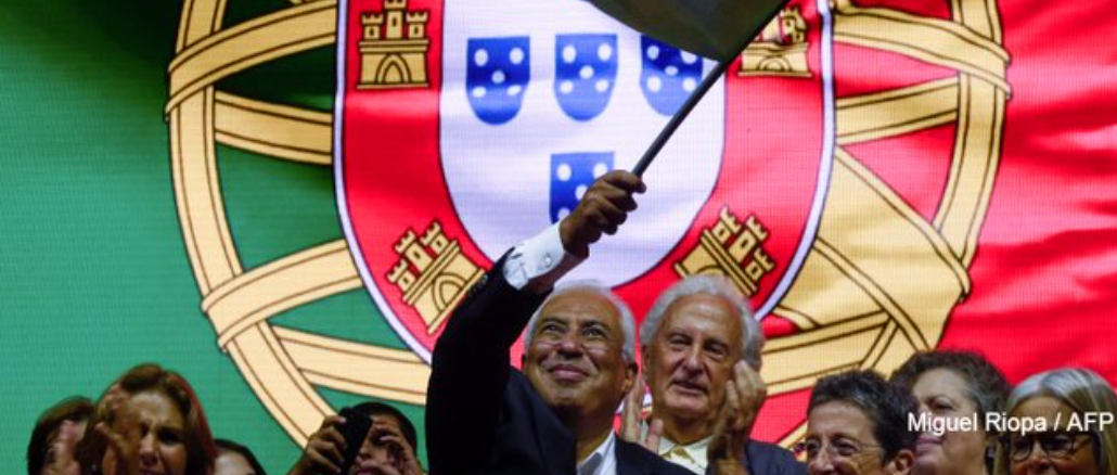 Portugal bucks the rise of the  European Alt-Right; votes for Socialist Party