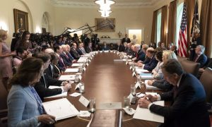 Live Upcoming: Trump Holds Cabinet Meeting