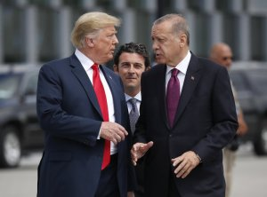 Trump holds a presser with Turkey's President Erdoğan