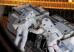 NASA Astronauts Conduct the First All-Female Spacewalk