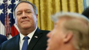 Pompeo's role is slow coming into focus
