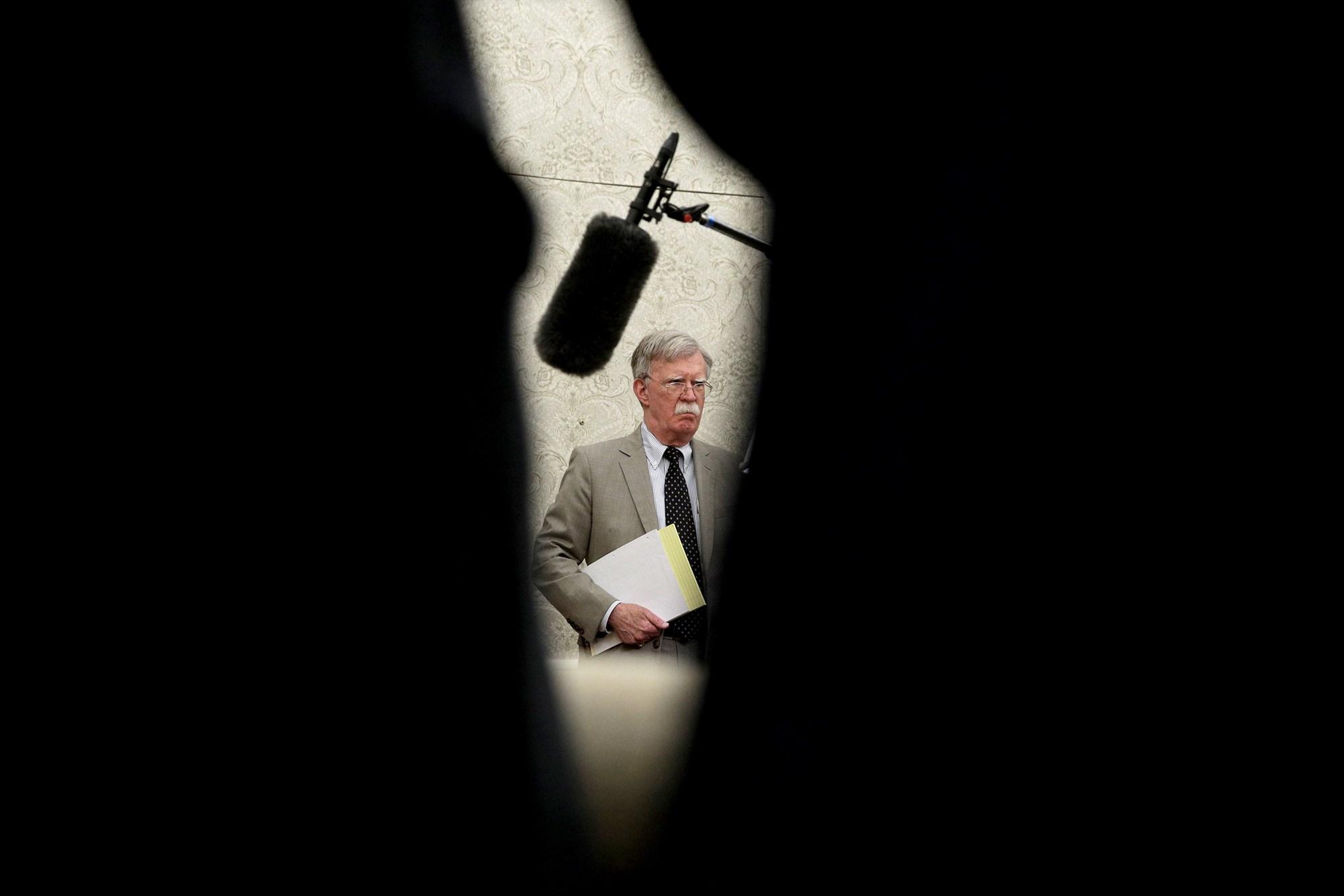 Bolton Trashes Trump in Private Speech