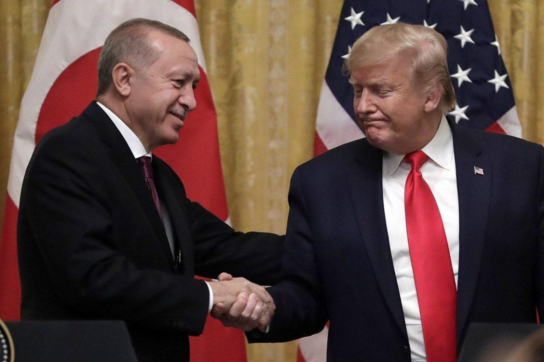 Erdogan Plays Anti-Kurd Propaganda on i-Pad in Oval Office Meeting