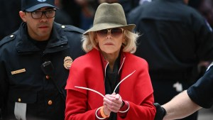 Actress and climate change activist Jane Fonda gets arrested – every week