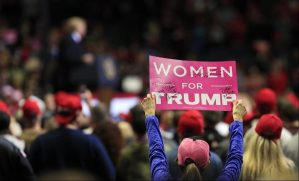 """Wing Nut Watch: Women for Trump sycophant claims women """"truly equal for the first time ever"""" under Trump"""