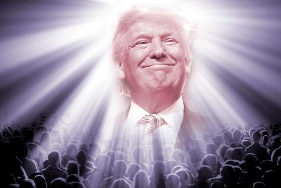 THE GOD PRESIDENT