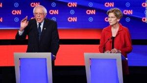 Bernie Sanders allegedly told Elizabeth Warren that a woman could not win the race