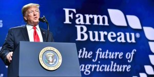 Trump tries to soothe  farmers and ranchers hit hard by his tariff war with China