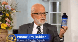 LETTUCE PREY: Televangelist  Jim Bakker urges people to drink liquid silver to stave off coronavirus!