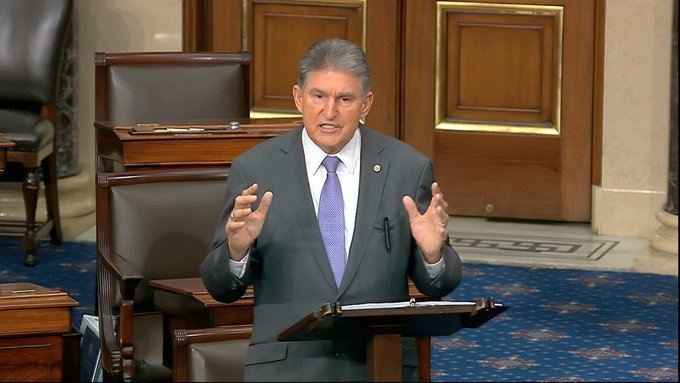 Joe Manchin considers removing Senators Cruz and Hawley via the 14th Amendment