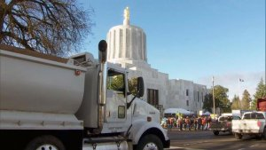 Oregon Democrats sue Republican toddlers for fleeing the scene to stop cap-and-trade bill