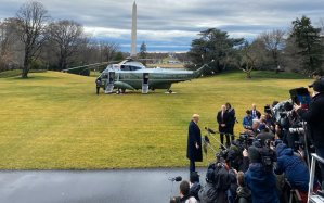 "Trump's Yellicopter presser: ""The country is unified! Just look at my bigly rallies."""