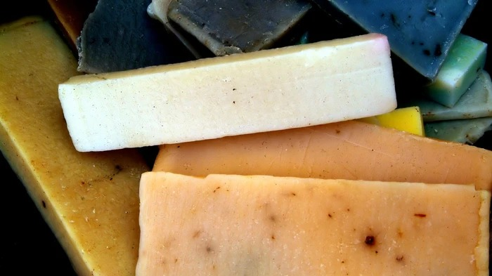 Relatable Woman Realizes She's Been Washing Her Hands With a Block of Cheese