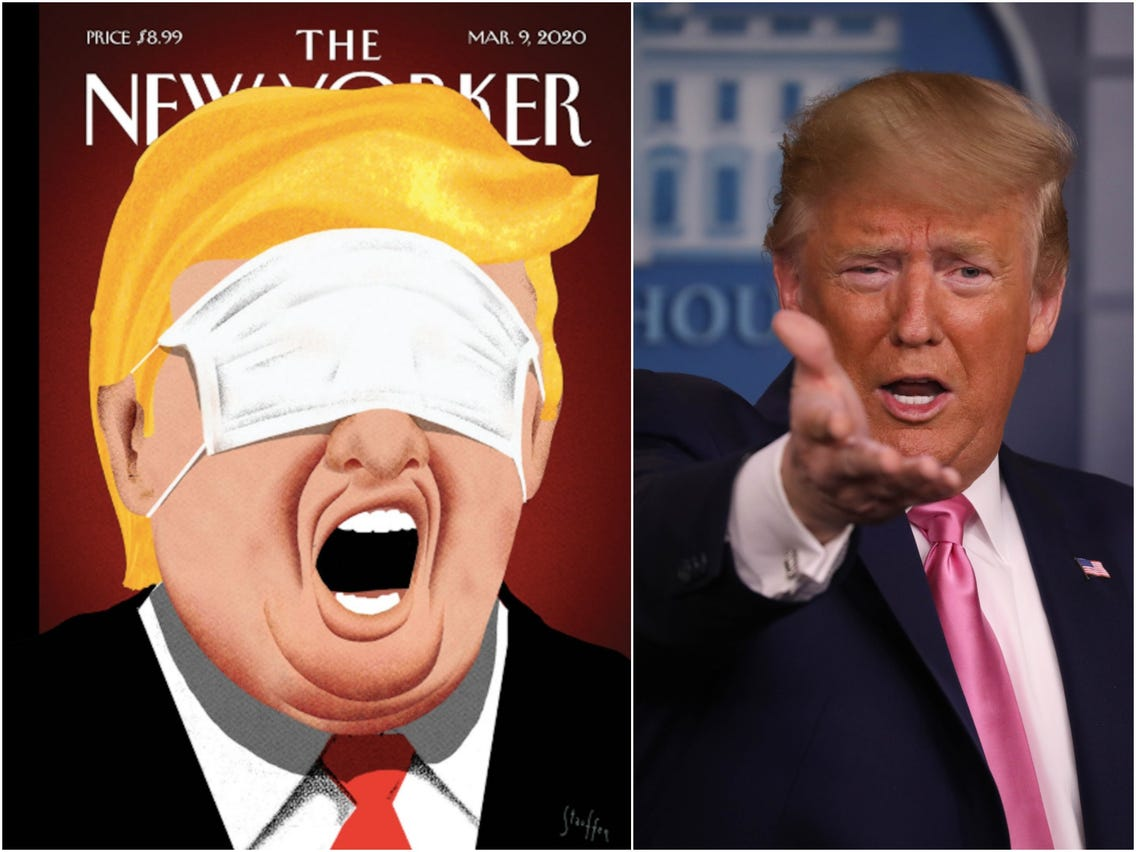 Donnie is using a national health emergency to plaster the airwaves with himself, while making the situation more dangerous