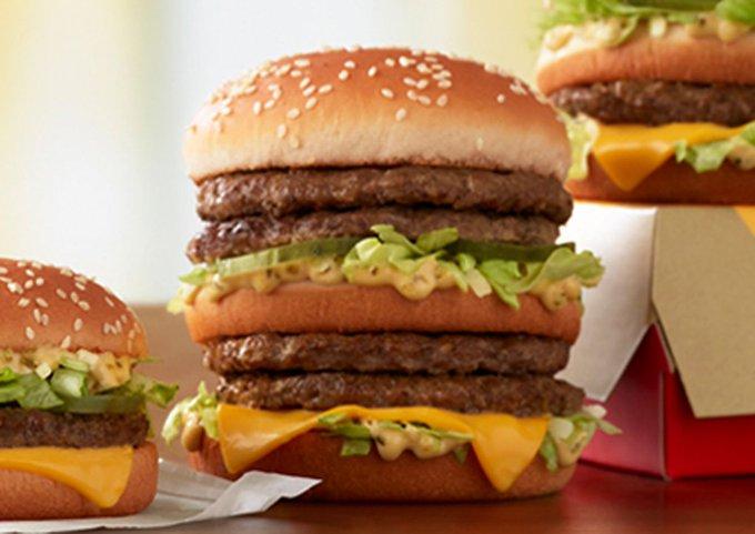 McDonald's now sells a four-patty Big Mac!