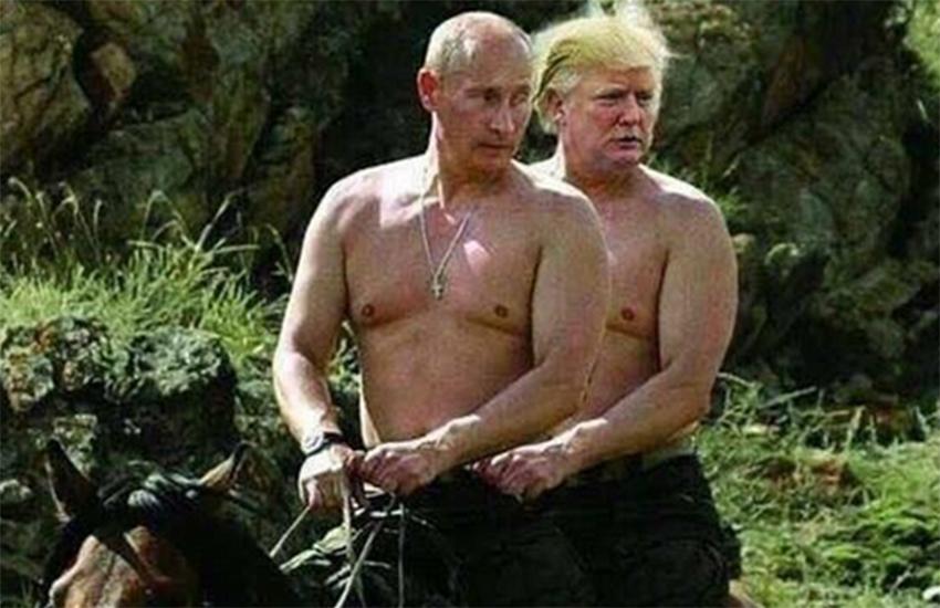 Putin Is on First Name Terms with Trump: 'He Calls Me Vladimir, I Call Him Donald'