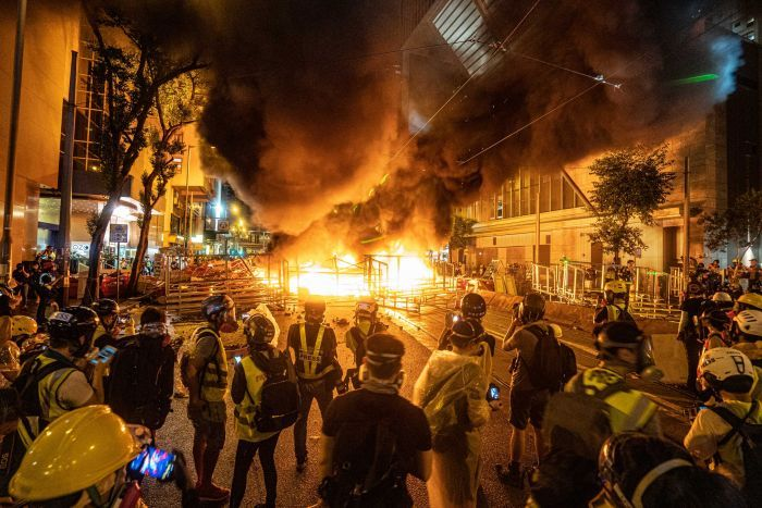 Stirrings of unrest around the world could portend turmoil as economies collapse
