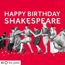 Happy birthday, William Shakespeare
