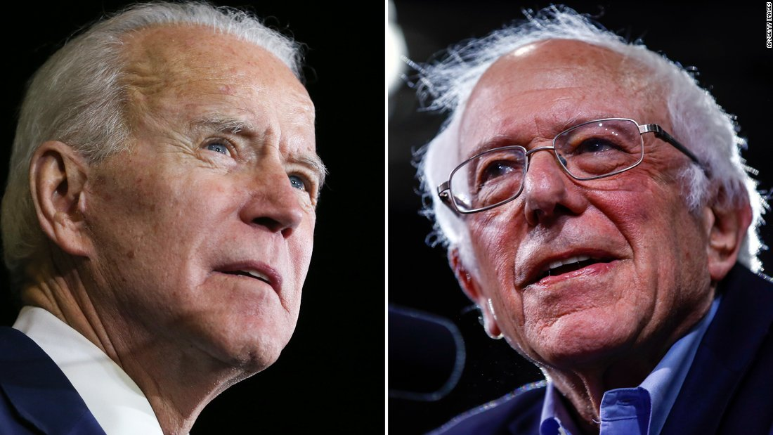 Senator Bernie Sanders officially endorses VP Joe Biden for president