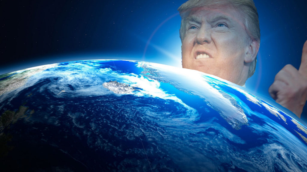 Your President, Mr. Donald J. Trump, Issues Executive Decree That We Should Mine the Moon for Minerals