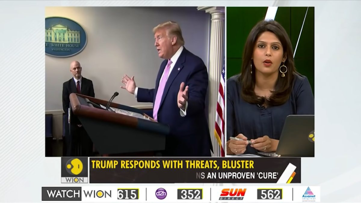 Trump Threatens the Wrong Country, Gets Decimated by Indian Female Anchor with the Facts