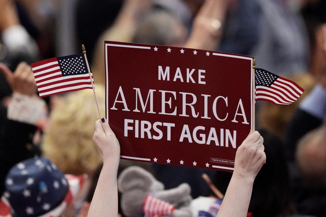 Trump: America first-We're #1!