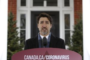 LIVE: Canadian PM Justin Trudeau Gives a Coronavirus Update