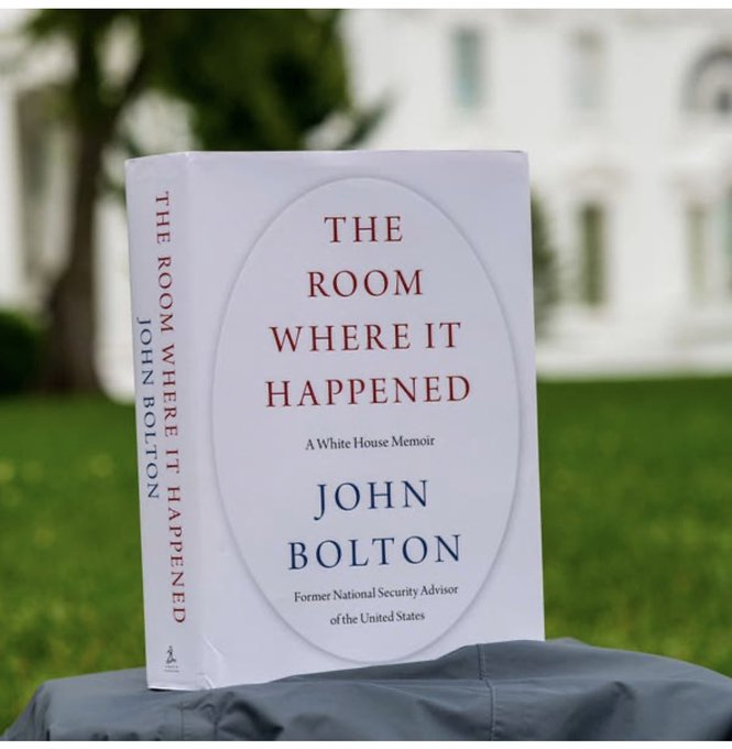Pirated editions of John Bolton memoir have appeared online