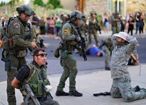 New Mexico 'Civil Guard' opens fire on peaceful protesters