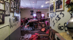 Trump's America: White Supremacists cause estimated $100K of damage to Indian restaurant