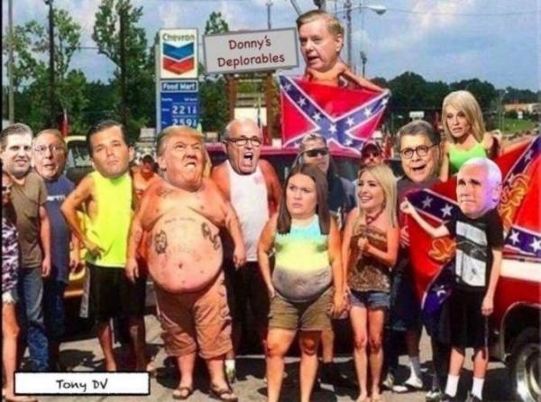 Trump Supporters in New Jersey Mock and Taunt the Death of George Floyd by Staging Roadside Reenactment