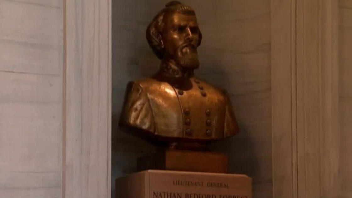 Tennessee Republicans vote against removing bust of  KKK member Nathan Bedford Forrest