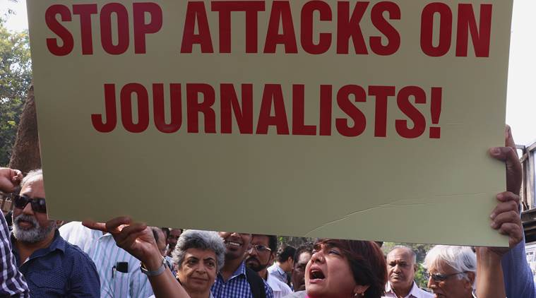 Over 400 attacks on press freedom in US under a month – but why?