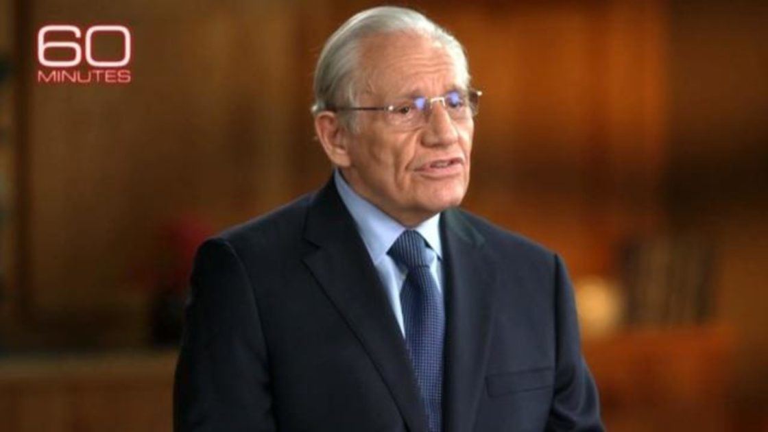 Watch 60 Minutes interview with Bob Woodward