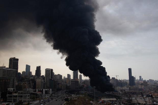 Huge fire breaks out at Port of Beiru a month after devastating explosion