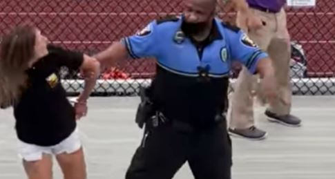 OHIO Woman Tased at Middle School Football Game Over Mask!