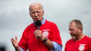 Watch Joe Biden's campaign speech at the UAW hall in Warren, Michigan
