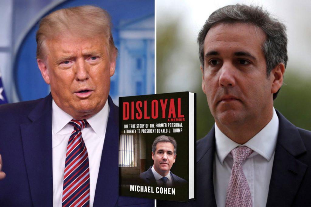 "Trump is ""a fraud, a bully, a racist, a predator"" says Michael Cohen in his new memoir"