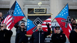 Scholars say U.S. rise in white nationalism follows historical pattern