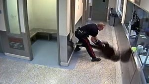 Calgary Police Video Shows Officer Throws Handcuffed Woman to the Floor Face First