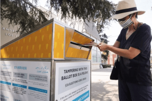 CA GOP accused of installing unofficial ballot drop boxes