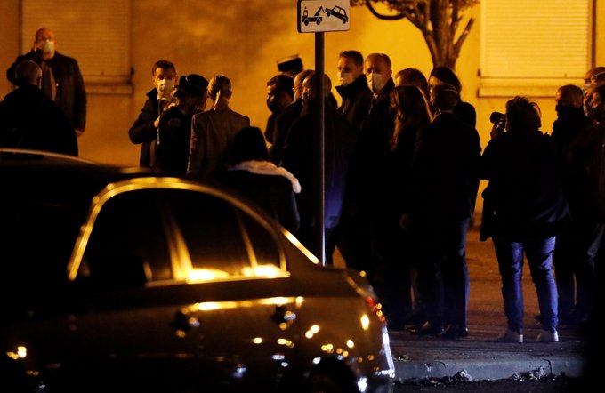 Paris high school teacher decapitated after allegedly showing students caricatures of the prophet Muhammad