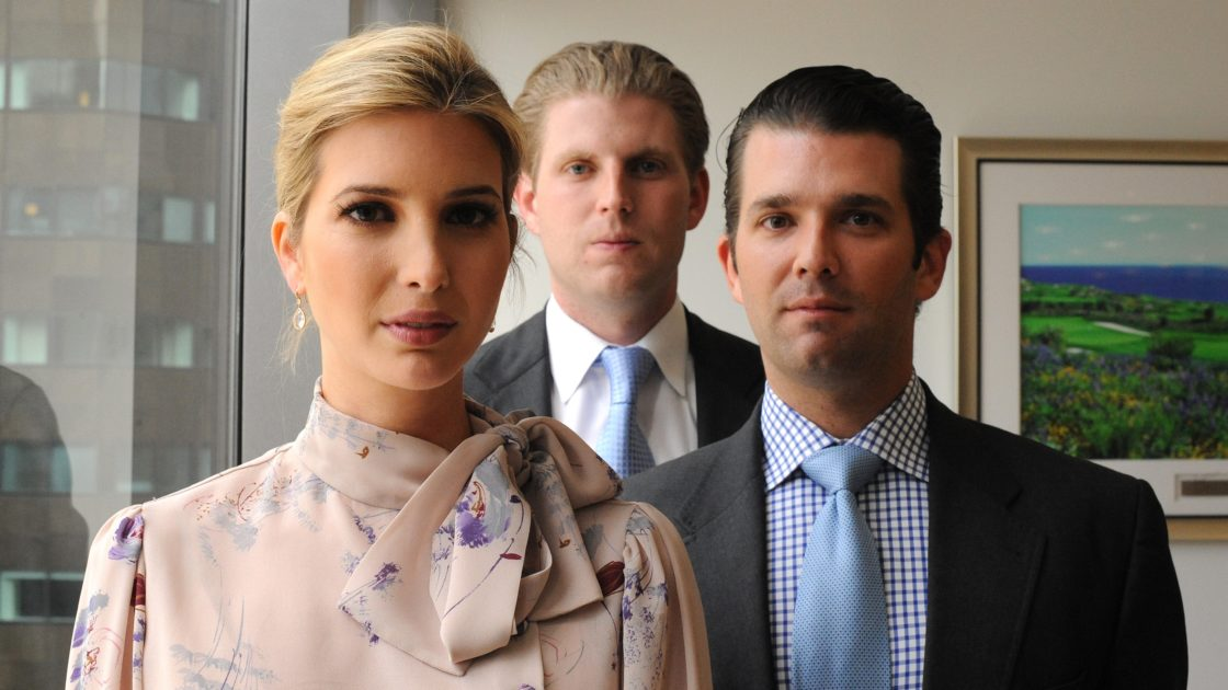 The election isn't only about Donnie, it's about the entire trashy Trump clan