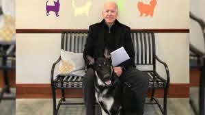 Biden Sprains Foot While Playing With Dog Major / Update