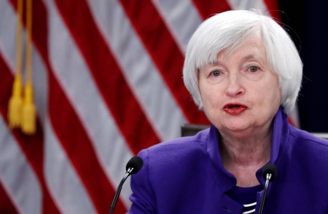 President elect Joe Biden choose Janet Yellen for Treasury Secretary