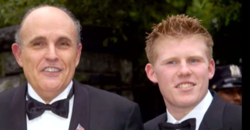 Rudy Giuliani's son tests positive for COVID-19